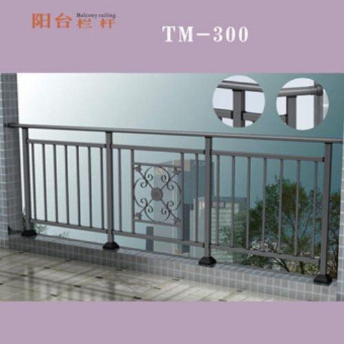 泰美钢结构 阳台锌钢护栏订做 楼盘锌钢护栏工厂