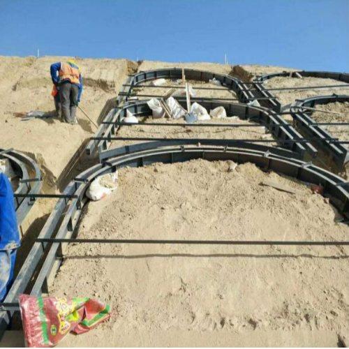定做塑料拱形护坡模具批发 驰情模具 定做塑料拱形护坡模具