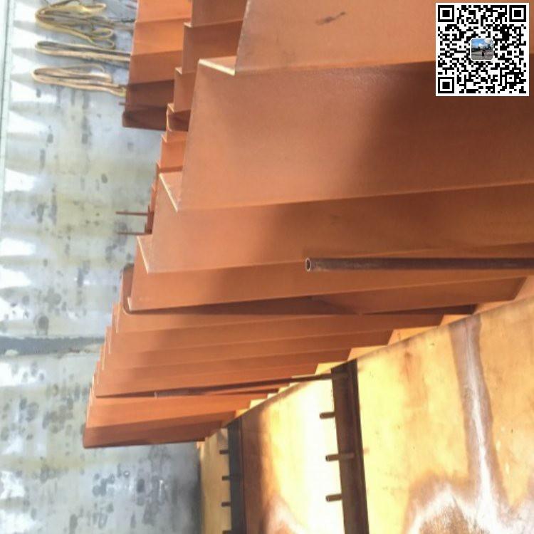 卓纳钢铁 幕墙装饰耐候钢现货 景观装饰用耐候钢雕塑