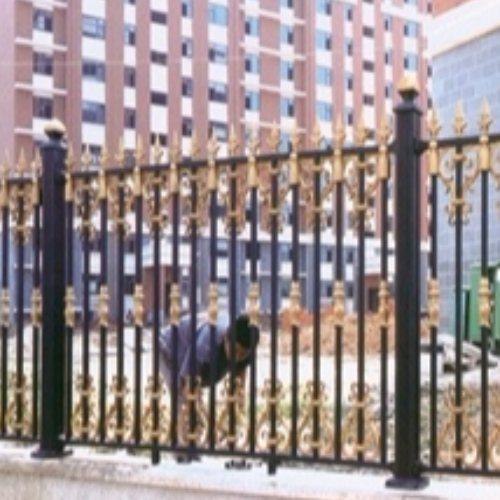 庭院铝艺围墙制作流程 桂吉 庭院铝艺围墙 铝艺围墙制作流程