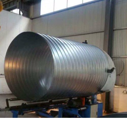 锦松 双层保温螺旋风管 铝螺旋风管定做 螺旋风管价格