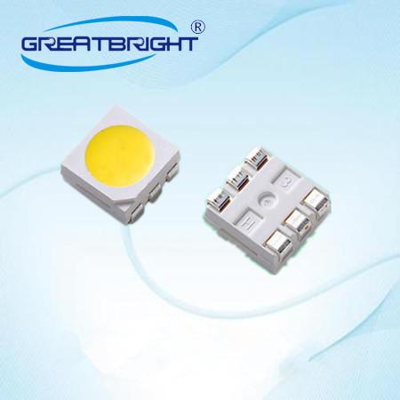 台湾台铭光电供应5050白光灯珠 0.2W 蓝光贴片led灯