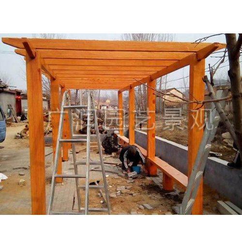 GR 钢筋水泥仿木护栏销售 优质水泥仿木护栏价格