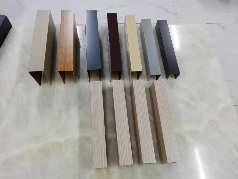 东莞铝方通吊顶报价 木纹铝方通 样式美观 经久耐用