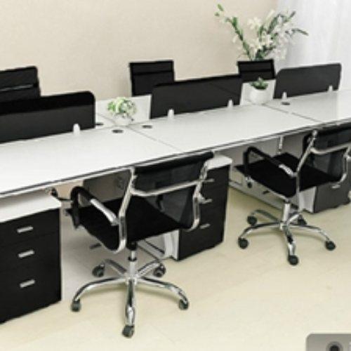 实木屏风员工桌系列 致美 公司屏风员工桌批发