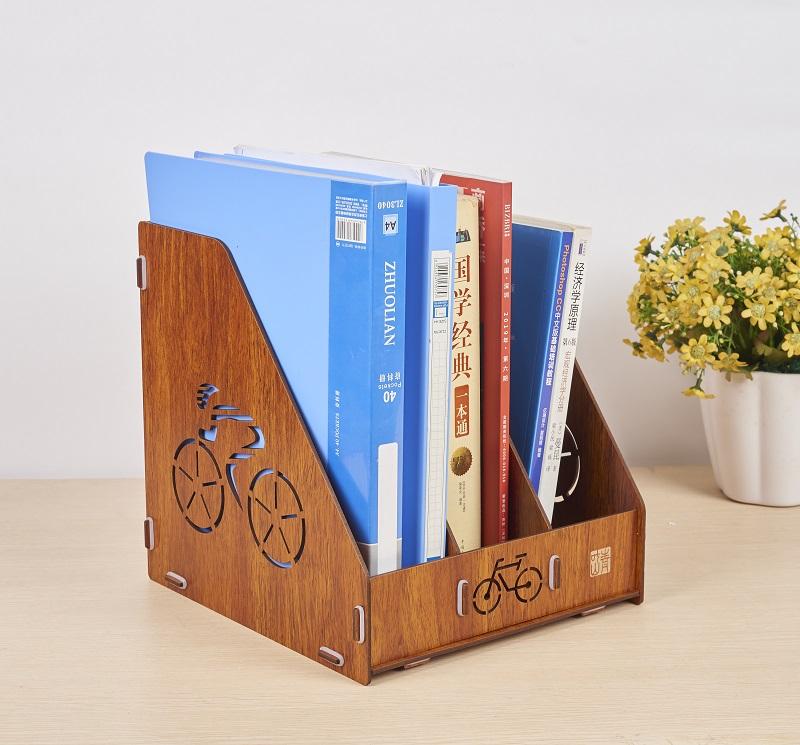 青叶山办公室桌面文件夹收纳盒资料档案整理架学生文具用品文件收纳神器