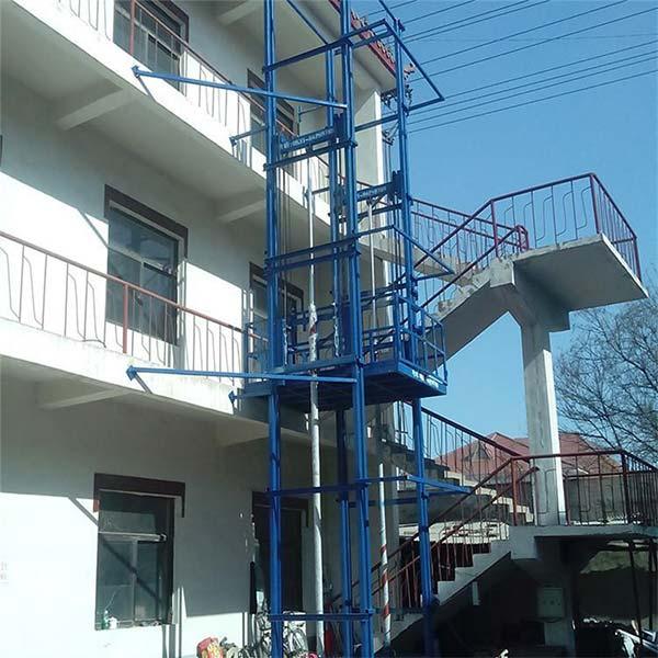 链条式导轨式升降机供应商 车间导轨式升降机供应商 丰润机械