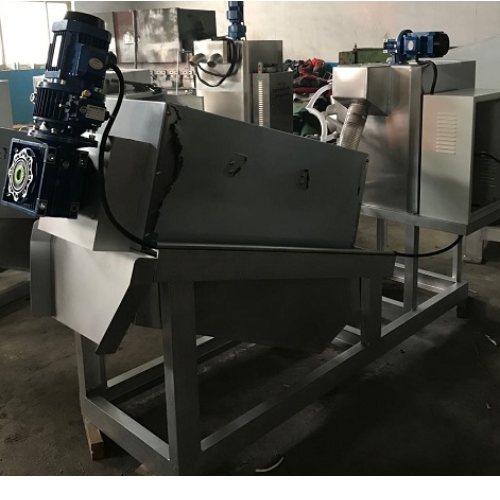 叠螺污泥脱水机操作视频 德州叠螺污泥脱水机图纸