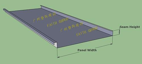 中山直立锁边BD65-400铝镁锰屋面板是不是越厚越好