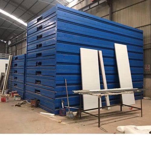 货车折叠集装箱订做 紫兴轻钢活动房 货车折叠集装箱定做