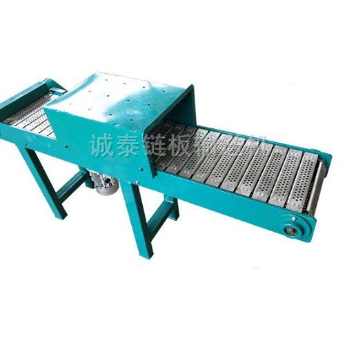 碳钢链板输送机生产 不锈钢链板输送机定做 顺鑫