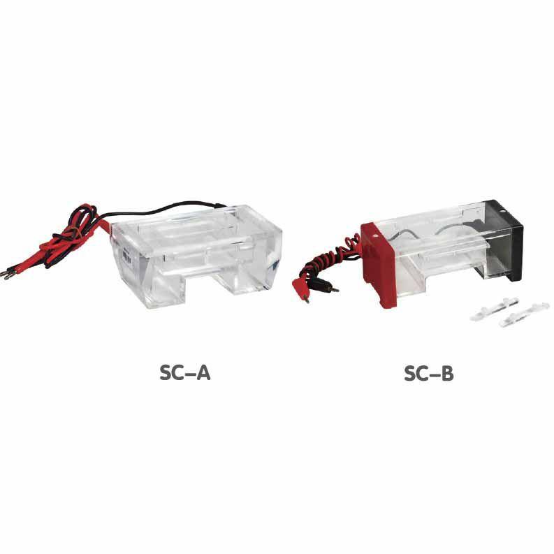 琼脂糖水平电泳槽SC-A有限位功能操作准确可做二块不同凝胶JSS/金时速