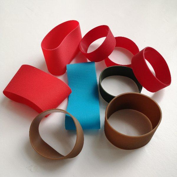 加厚硅胶杯套定制 玻璃杯硅胶杯套定制 晨光橡塑