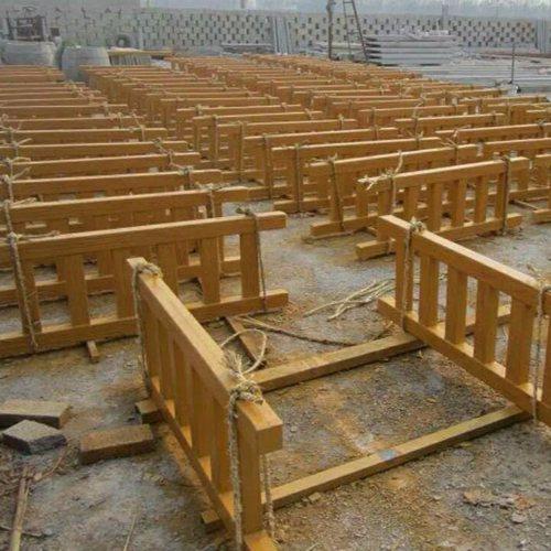 湖南水泥仿木栅栏的施工方案 用处水泥仿木栅栏源头 丽景建材