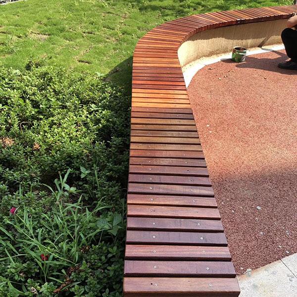 菠萝格户外木地板 花园户外木地板每平米造价多少 景致木业