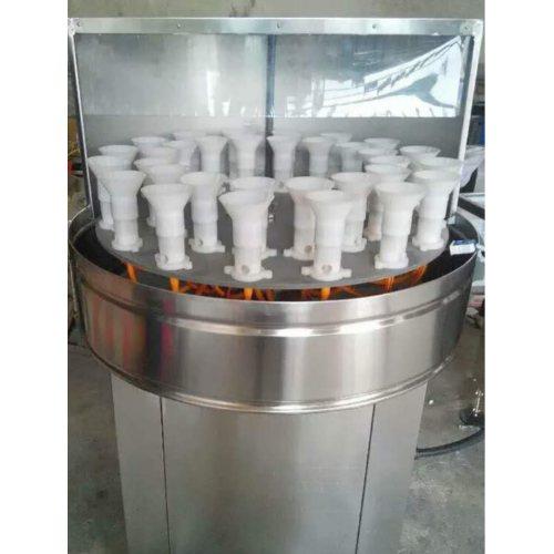 全自动玻璃酒瓶洗瓶机生产 青州九州灌装 小型自动玻璃酒瓶洗瓶机
