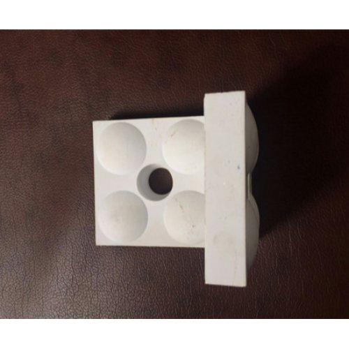 氧化铝陶瓷衬板批发 坤宁橡塑 热电厂陶瓷衬板批发