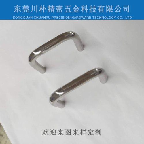 川朴精密五金 通讯设备不锈钢拉手加工定制