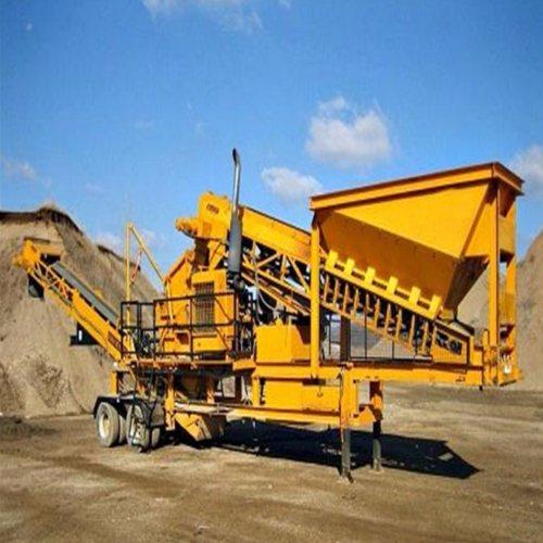 君诺机械 供应全自动圆锥式破碎机 铝矿石粉碎碎石机 建筑垃圾移动式破碎站