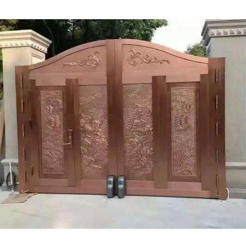 百狮盾 酒店复铜门定做 别墅复铜门 酒店复铜门多少钱