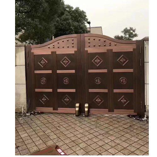 百狮盾 别墅复铜门报价 复铜门加工 复铜门生产企业