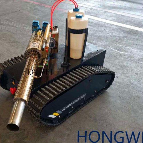 弥雾版防疫消毒机器人 FZ-80遥控机器人 消毒机器人 植保机械