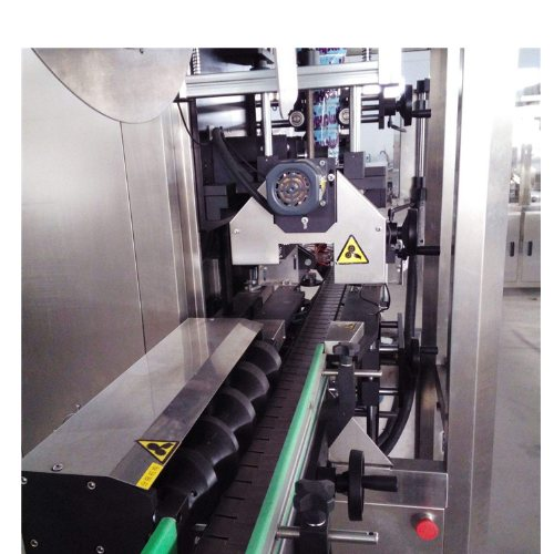 矿泉水全自动套标机非标定做 瓶口全自动套标机 腾卓机械