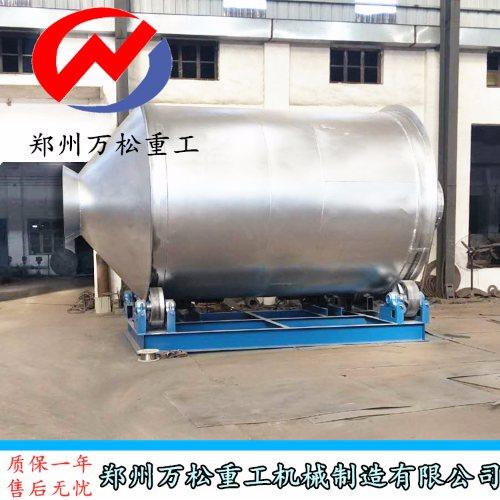 郑州万松重工 新型膨胀珍珠岩搅拌机安装现场 膨胀珍珠岩搅拌机