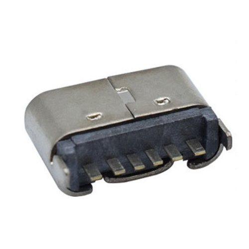 type-c母座 志顺电子 type-c接口定做批发 立式插板5PIN H5.0