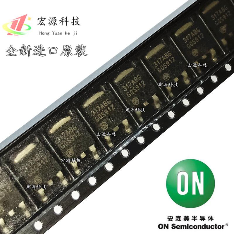LM317MABDTRKG 丝印 317ABG 线性 稳压器