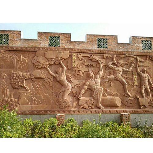 学校浮雕壁画定制 赤流雕塑 浮雕壁画定制 石材浮雕壁画设计