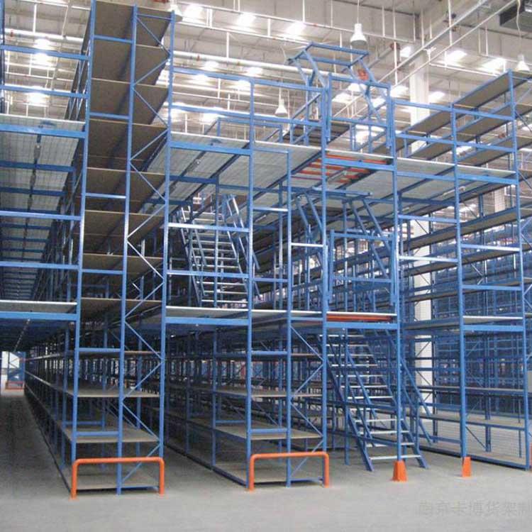 重量型阁楼式仓储货架批发 中型阁楼式仓储货架现货 瑞远
