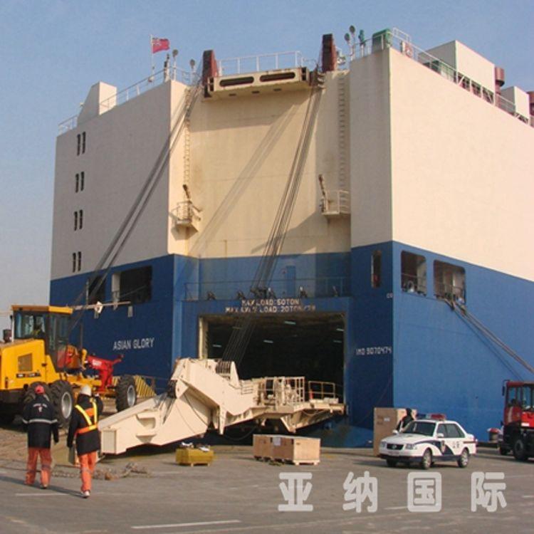 大件重件设备门到门物流运输服务 国际物流运输 海运 陆运 空运