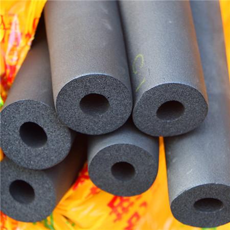 橡塑保温套管b1级隔热橡塑高密度保温材料