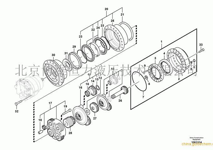 VOLVO 9043908326 Genuine Bosch Rexroth REMAN Gear Box