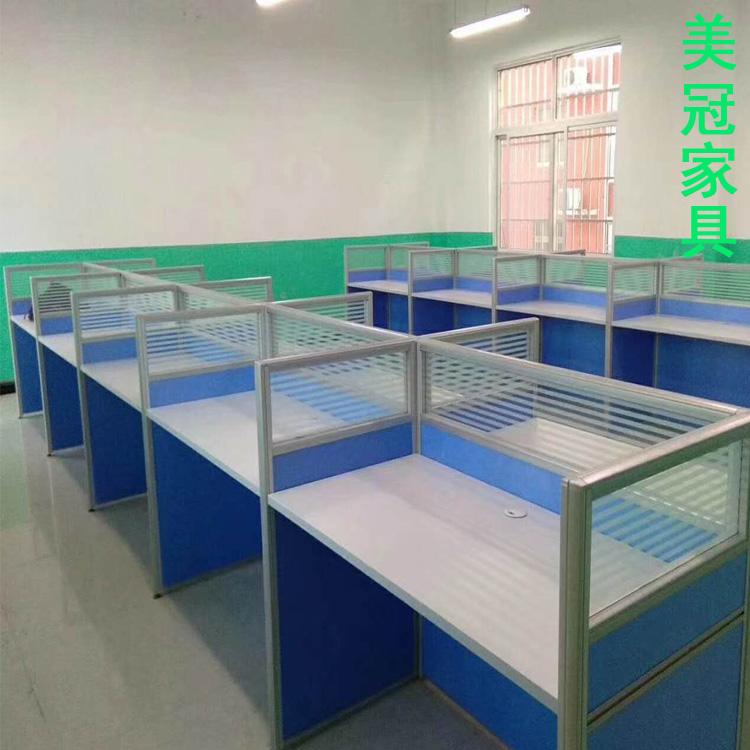 开封屏风隔断办公台+员工卡位定做——办公室钢架桌厂家