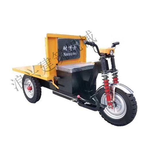 拉料电动手推车 耐博士 拉水泥电动手推车 小型电动手推车