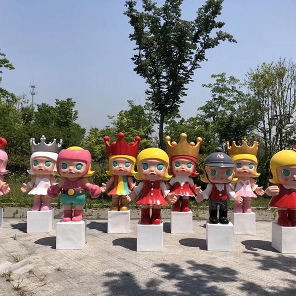 重庆玻璃钢造型安装公司 龙泰雕塑 公园玻璃钢造型定做