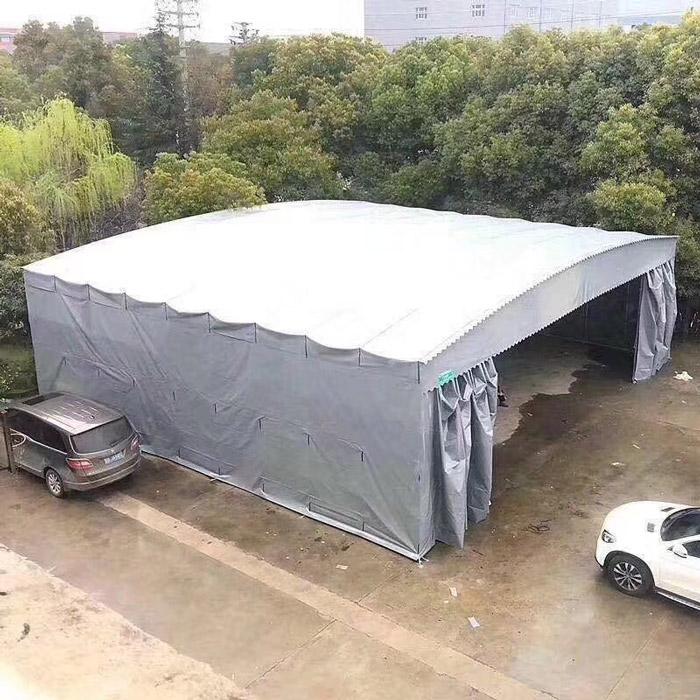 防雨养殖卷帘布批发 防雨养殖卷帘布定制 鲁耐