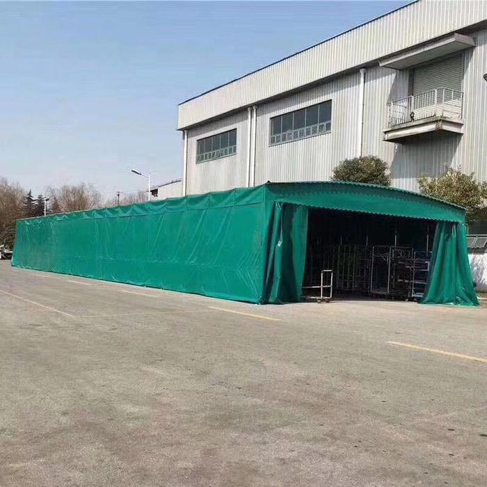 定做推拉篷制造 生产推拉篷定制 鲁耐 大排档推拉篷制造