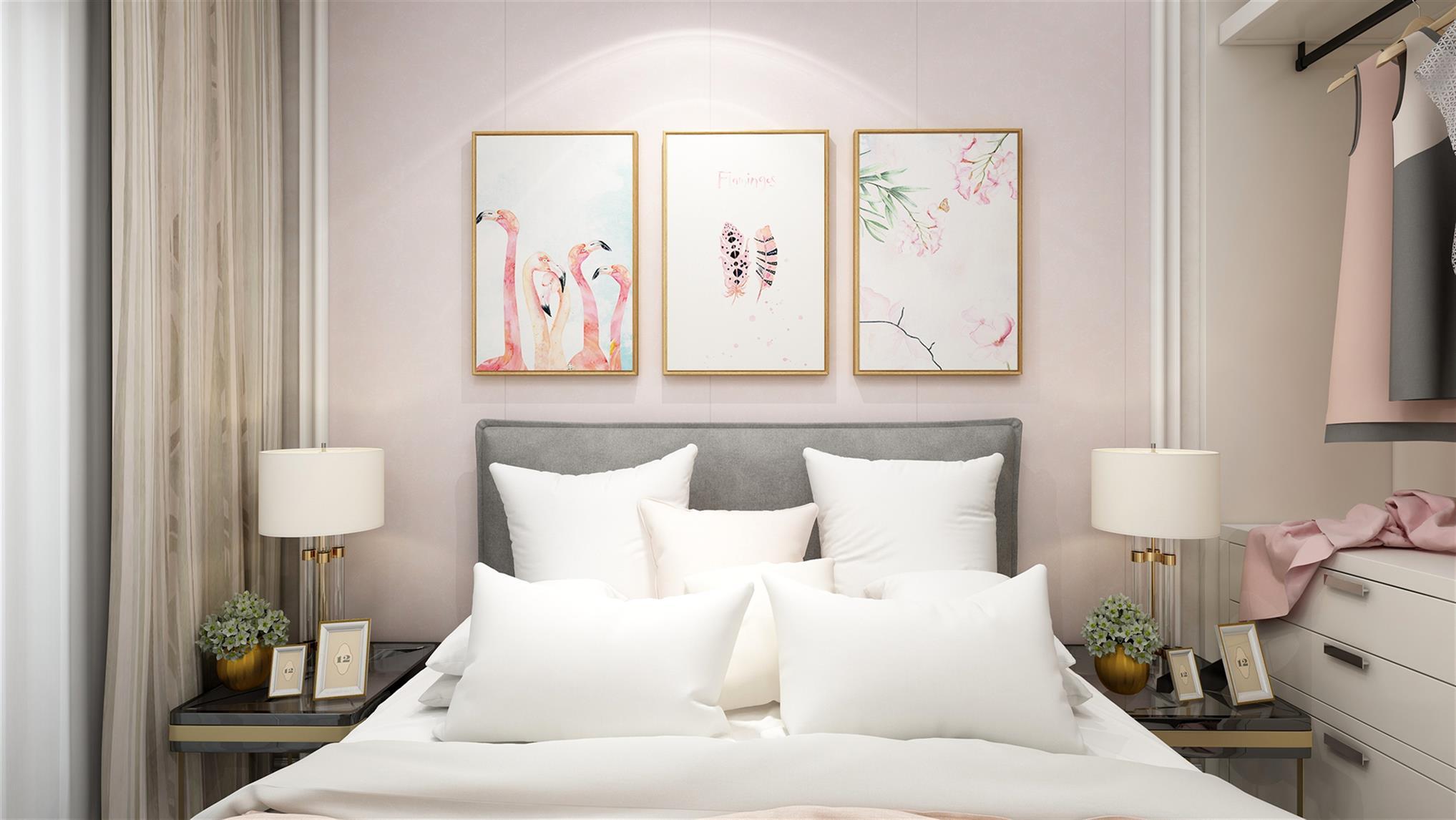 卧室背景墙价格 床头背景墙