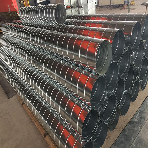 佳工环保 镀锌螺旋风管批发 定做镀锌螺旋风管定制