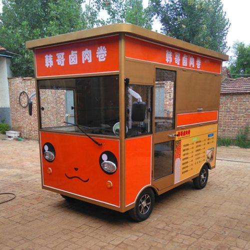 质量好的电动三轮小吃车报价 美旺 定做电动三轮小吃车