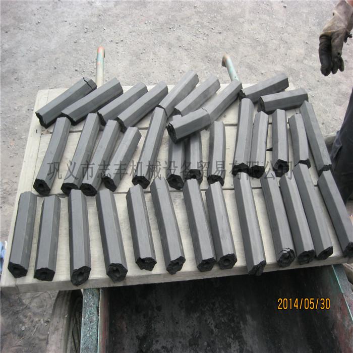 大型炭粉挤棒机有售 志丰 环保无烟炭粉挤棒机 高产量炭粉挤棒机