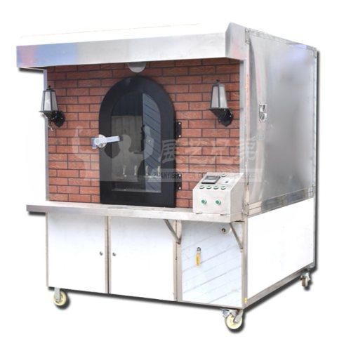 熟食店专用烤鸭挂炉直销 移动式烤鸭挂炉直销 展艺兄弟