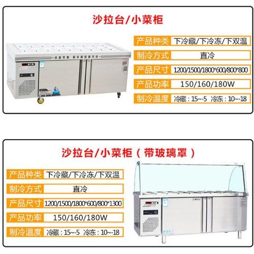 立式冷藏保鲜柜 商用冷藏保鲜柜订做 冰力客