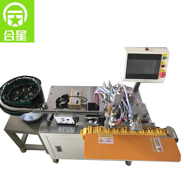 厂家供货直销自动化USB全自动焊锡机东莞数据线焊接设备HX-001