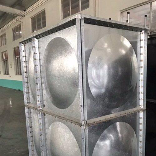 100吨镀锌保温水箱供应商 绿凯质保3年 38立方镀锌保温水箱报价