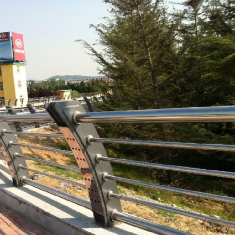 华企 优质不锈钢灯光栏杆厂 专业不锈钢灯光栏杆订做