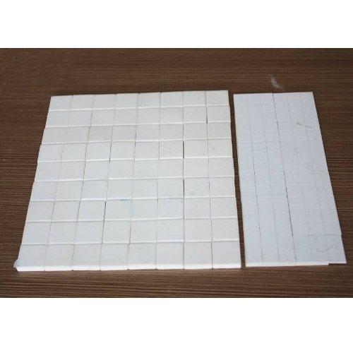 化工厂陶瓷衬板密度 二合一耐磨陶瓷衬板供应商 坤宁橡塑
